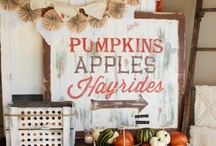 Thanksgiving & Fall Decor / by Kates