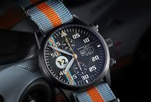 Le Mans Racing Watch / We are in love with Le Mans 24h ! Now choose your personal lucky numer 0 - 99 for your individual dial / by Maurice de Mauriac - Zurich Watches
