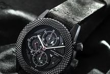 New Black Movement Watch / New black movement Swiss made watches from Watchmaker Maurice de Mauriac. Luxury watches for men and women.   / by Maurice de Mauriac - Zurich Watches