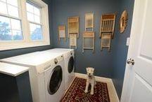 Laundry Room & Half Bath