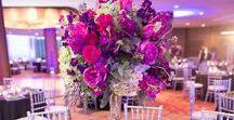 Purple & Fuchsia Wedding