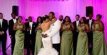 Fuchsia & Green Wedding