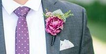 Purple & Green Wedding