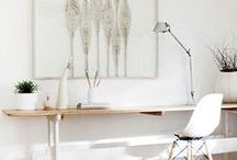 workspaces / how would you like to organize and decorate your working place?