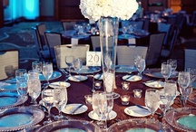 Teal, Brown, and Ivory Wedding