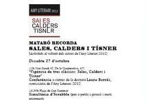 Mataró Recorda Sales, Calders, Tísner #sctmataró