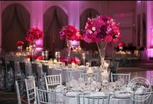 Pink and Gray Wedding
