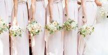 Pink, Peach, & White Wedding / http://significanteventsoftexas.com/