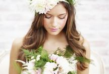 rustic wedding inspiration / ideas for your country or outdoor wedding