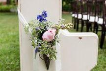 Pink & Blue Wedding / http://significanteventsoftexas.com/