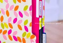 Organizer inspiration / Need to get organised in 2014, early new year resolution