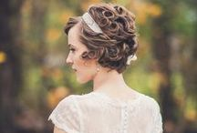 wedding hair & beauty / inspirations for hairstyles or make up for the special occasion