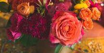 Fuchsia & Orange Wedding