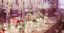 Silver & Gold and Shades of Pink Wedding