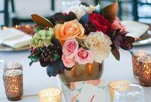 Burgundy, Blush, & Peach Wedding