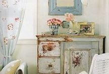 Shabby Chic / Decor inspiration: french country decor, shabby chic. / by Maurice de Mauriac - Zurich Watches