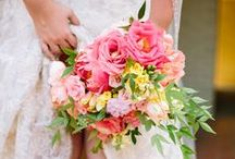 Coral, Pink, & Peach Wedding / http://significanteventsoftexas.com