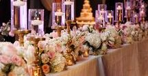 Pink & White Wedding / http://significanteventsoftexas.com