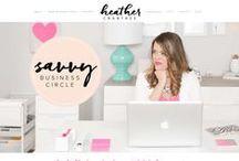 Website Design & Branding / Website design inspiration and website design and branding tips.