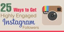 Instagram Tips / Instagram strategy and tips for growing your business by getting more Instagram followers, increasing engagement and driving traffic to your website.
