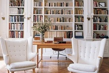 ...i love bookcases. / by Sarah Coleman Hunt