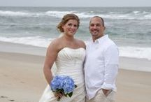 Mr. & Mrs. / OBX, NC / by Heather Svajdlenka