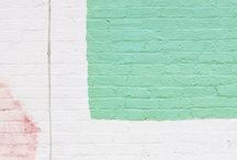 I>colours+textures>hint of mint / by Claire