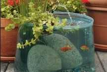 Backyard Water Features / Backyard Water Features. Find DIY fountains, container ponds, water garden ideas, water plant info, koi pond ideas, fish ponds, DIY sprinklers, solar power fountains, wall fountains and do-it-yourself water features to enhance your beautiful backyard. / by Aspen Country