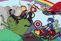 The Avengers / by Hannah Kitzmann