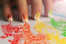 Nails & Manicure Ideas / Nail Care, Manicures and Pedicures. Find stylish finger nail ideas, fun manicure tips, unique nail art, nail care tips, crazy colors and nail designs, stamping nail art, acrylic nail ideas and wild nail polish ideas to match any outfit, holiday or mood. / by Aspen Country