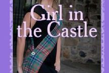 Girl in the Castle / A mood board for a contemporary novel set in the Highlands of Scotland. Romance, mystery and a search for that which is lost.