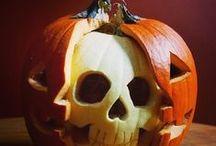 Halloween Pumpkin Ideas / Halloween Pumpkins. Find creative pumpkin carving, clever Jack-O-Lanterns, fun pumpkin decorating ideas, cute pumpkins, cool pumpkin decor, clever painted Halloween gourds, creative pumpkin centerpieces and fun ways to decorate fall pumpkins.  / by Aspen Country