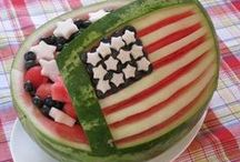 4th of July Food / Hot 4th of July Food Ideas. Find red, white, and blue treats, refreshing summer recipes, patriotic USA flag foods for Independence Day picnics, popping firecracker barbeque ideas, and cool treats for your hot 4th of July parties. / by Aspen Country