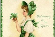 Holiday: St. Patty's / St. Patricks Day decor and wedding anniversary ideas since we where married on St. Patricks Day