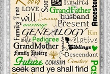Genealogy/Family History / by Valerie Cross