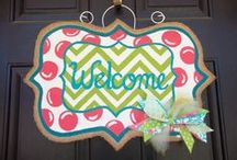 Door Decor / by Inga Holmes