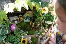 FAIRY GARDENS / LOVEY these tiny gardens! / by Dawn's Darlings Daycare