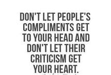 Feedback & criticism