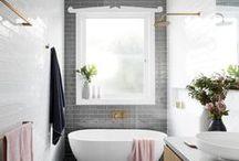 Bathroom inspo / Bathroom inspiration for our now or someday home