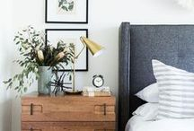 Sleeping spaces / Bedroom inspiration for our now or someday home