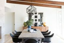 Dining spaces / Dining room inspiration for our now or someday home
