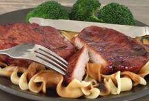 Pork - Chops (boneless) / by Claudi Bauer