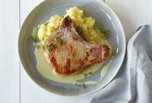 Pork - Chops (bone-in) / by Claudi Bauer