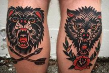 Tattoos - Traditional / Traditional is my absolute favourite style of tattoo, in all its forms.