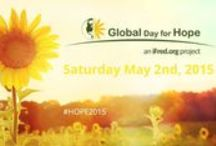 iFred | Global Day for Hope / Join us in celebrating all things HOPE on Saturday May 2nd, 2015 by planting sunflowers in your community. This is a day to share your support and help us raise awareness for depression treatment. With over 350 million people worldwide affected by the disease and the vast majority not seeking help due to stigma, it is time we joined hands in solidarity to #planthope. #hope2015 / by IFred