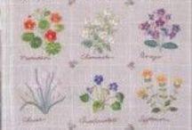 Embroidery/Вышивка гладью / Мотивы вышивок для вдохновения