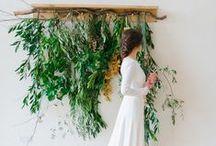 Wedding decor ideas / For the organic bride