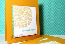 Stampin'spirations / Inspirations to kick my card-making into high gear