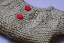 Strikke ideer - ideas for knitting / Inspirations bord
