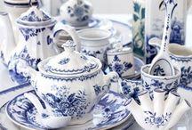 Blue & White China/Ironstone